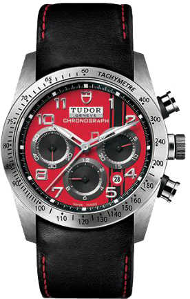 Tudor Fastrider Chronograph Red Dial Men's Watch M42000D-0001 Red USA - GOOFASH - Mens WATCHES