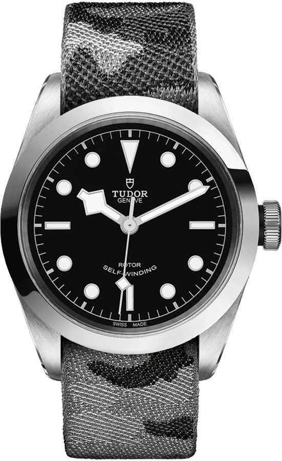 Tudor Heritage Black Bay 41 Men's Watch M79540-0007-FB1 Black USA - GOOFASH - Mens WATCHES