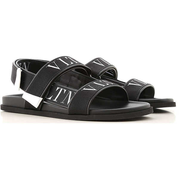 Valentino Garavani Sandals for Men Black Canada - GOOFASH - Mens SANDALS