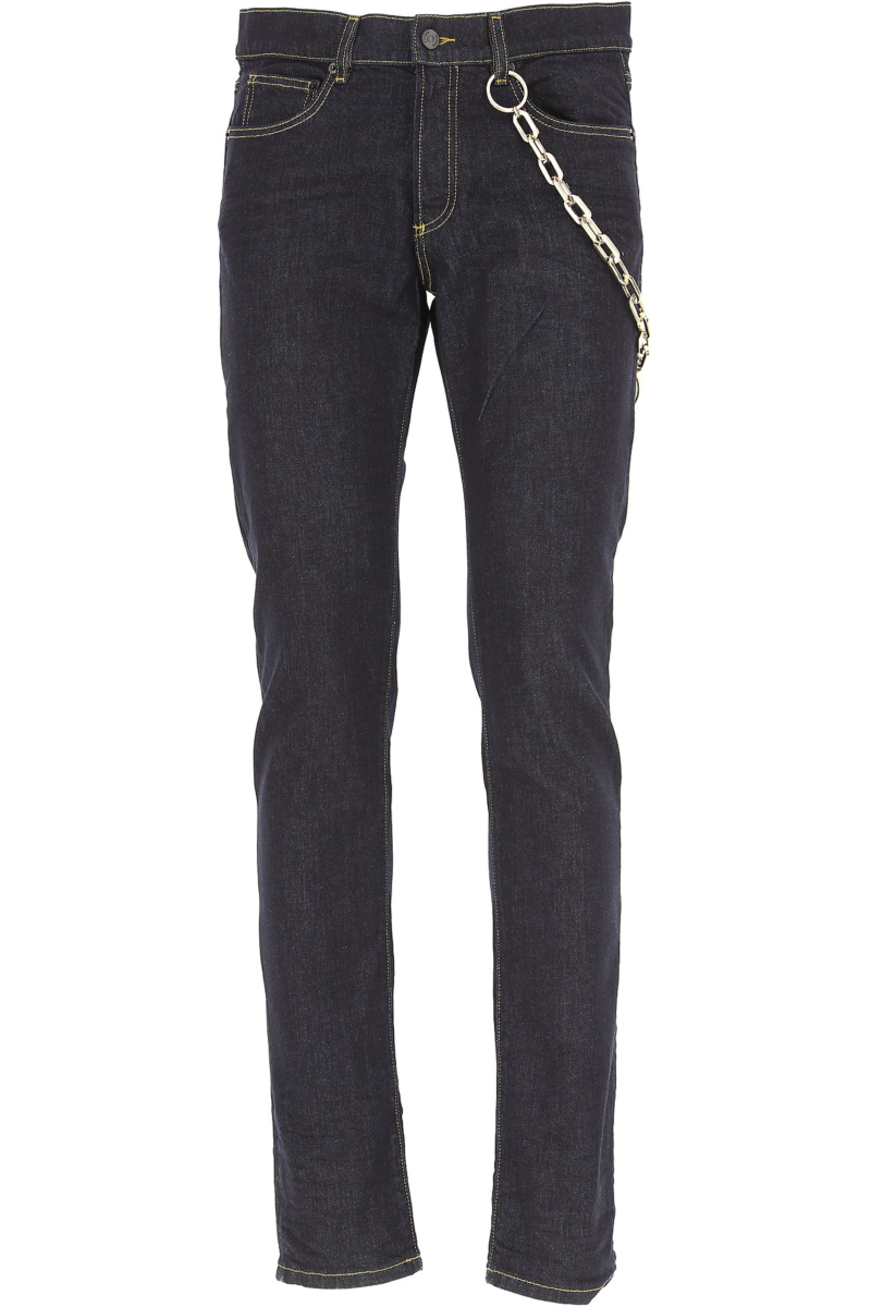 Versace Jeans in Outlet Dark Blue Denim Canada - GOOFASH - Mens JEANS