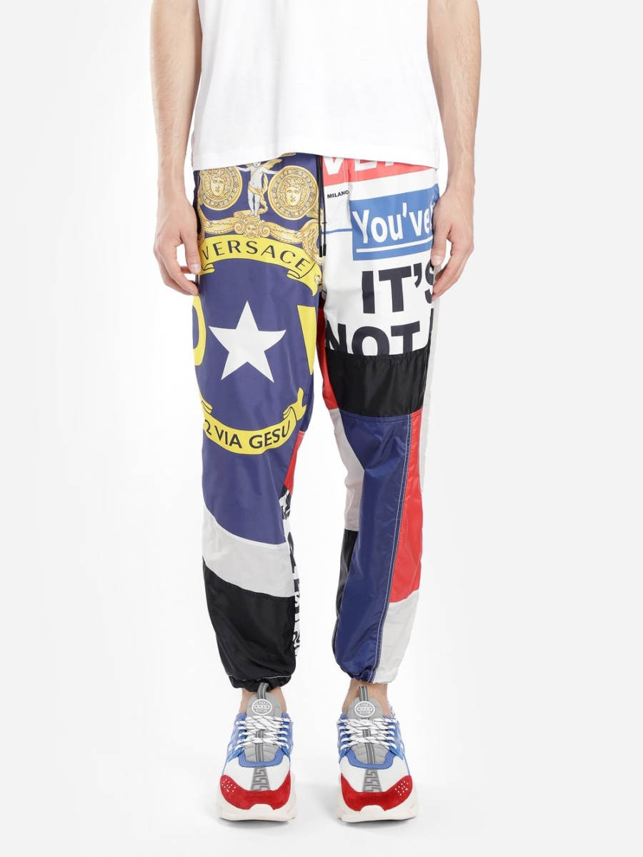 Versace Trousers Multicolor Canada - GOOFASH - Mens TROUSERS