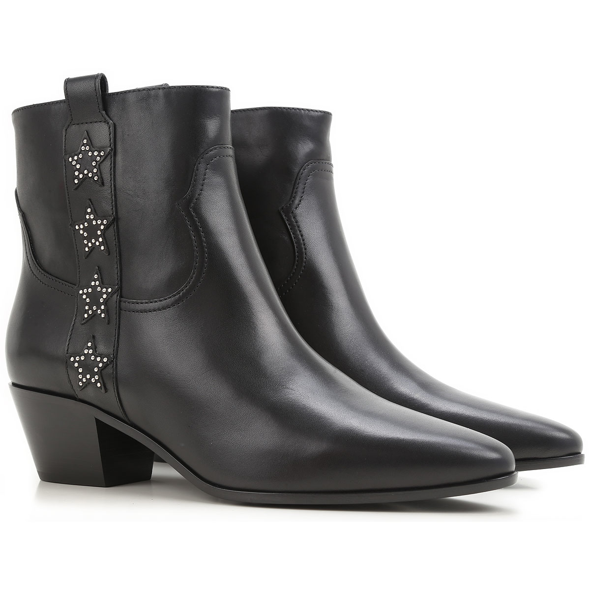 Yves Saint Laurent Boots for Women Booties On Sale in Outlet Canada - GOOFASH - Womens BOOTS
