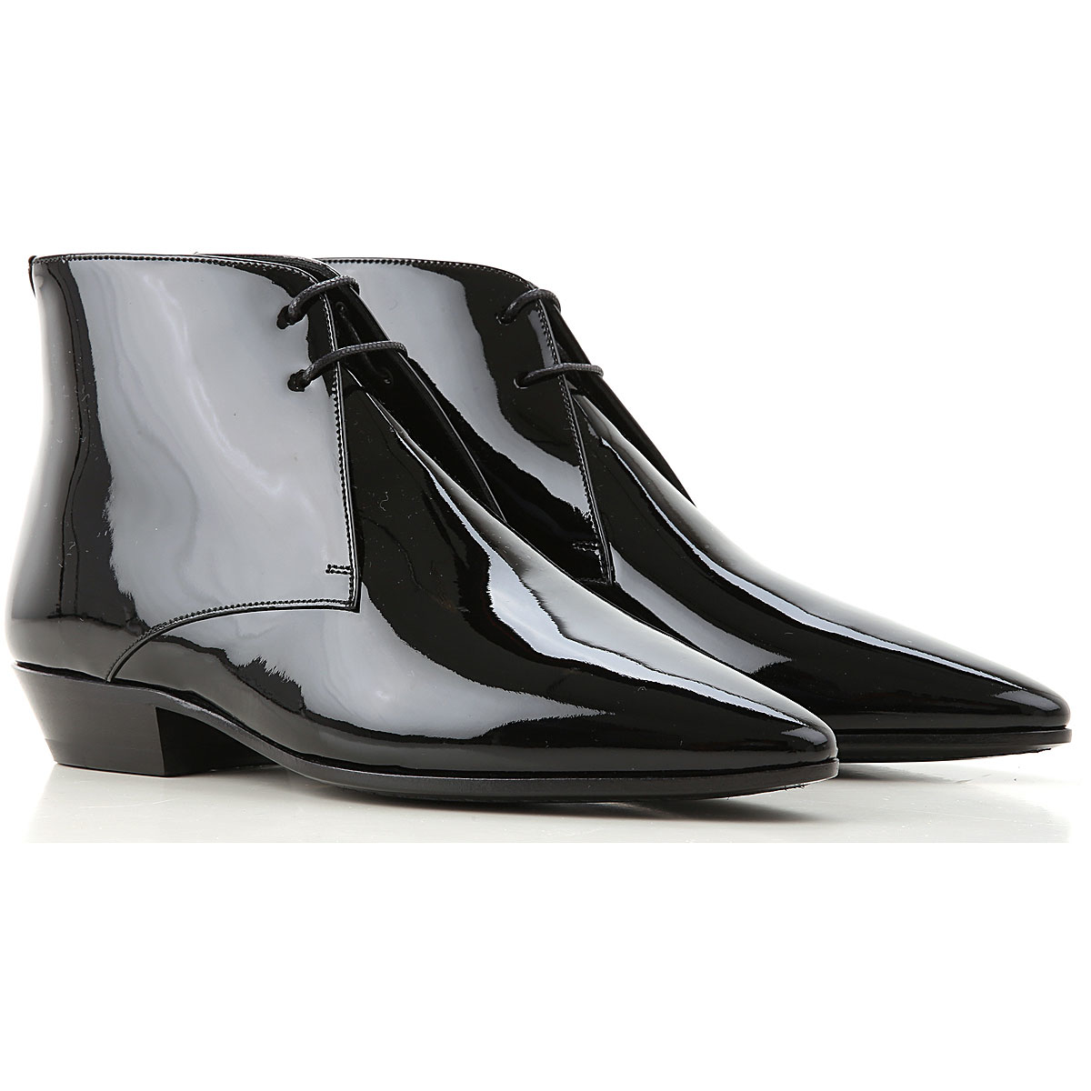 Yves Saint Laurent Lace Up Shoes for Men Oxfords Derbies and Brogues Canada - GOOFASH - Womens LEATHER SHOES