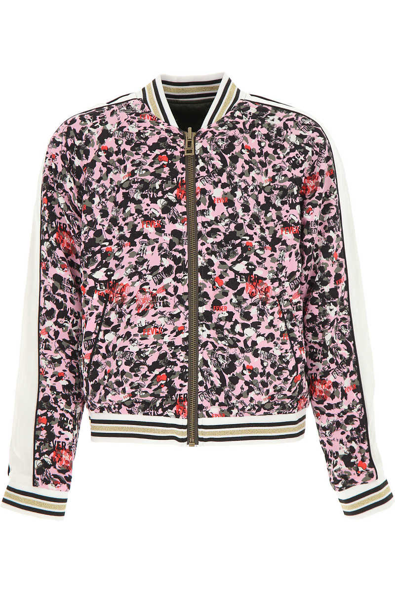Zadig & Voltaire Kids Jacket for Girls Pink Canada - GOOFASH - Womens JACKETS