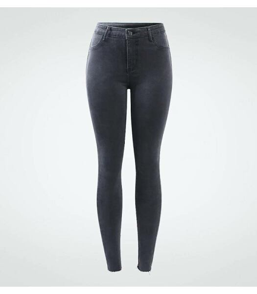 Women FASHION Dark grey jeans for women 1