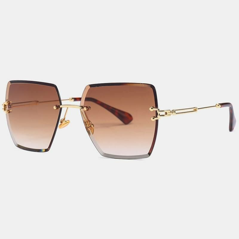 Rimless square designer sunglasses for women Ads WOMEN Ads Women ACCESSORIES Ads Women SUNGLASSES WOMEN Women ACCESSORIES Womens SUNGLASSES