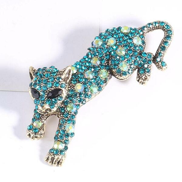 Sparkling rhinestone leopard brooches for women Ads WOMEN Ads Women ACCESSORIES Ads Women JEWELRY WOMEN Women ACCESSORIES Womens JEWELRY