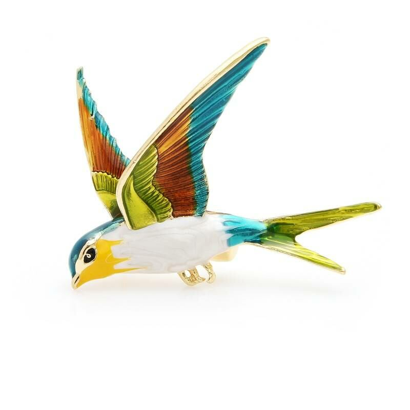 Flying bird swallow brooch for women Ads WOMEN Ads Women ACCESSORIES Ads Women JEWELRY WOMEN Women ACCESSORIES Womens JEWELRY