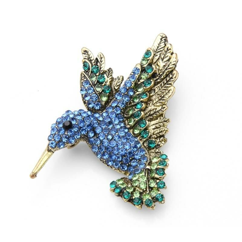 Rhinestone hummingbird brooch for women Ads WOMEN Ads Women ACCESSORIES Ads Women JEWELRY WOMEN Women ACCESSORIES Womens JEWELRY