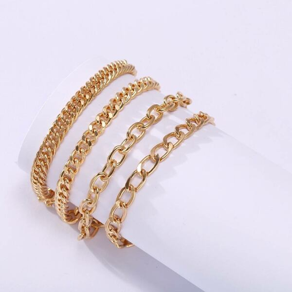 Punk chain link bracelet for women Ads WOMEN Ads Women ACCESSORIES Ads Women JEWELRY WOMEN Women ACCESSORIES Womens JEWELRY