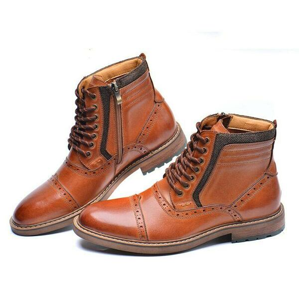 GOOFASH Gentleman Shoes Collection Style Inspiration Looks