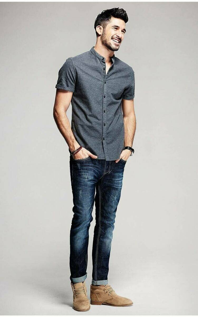 GOOFASH Mens Clothes Collection Outfits Trend Style