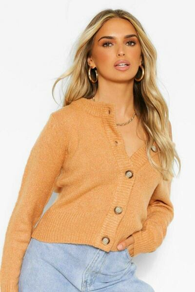 Boohoo UK Lady Knitwear Looks Inspiration with your new post styles on GOOFASH