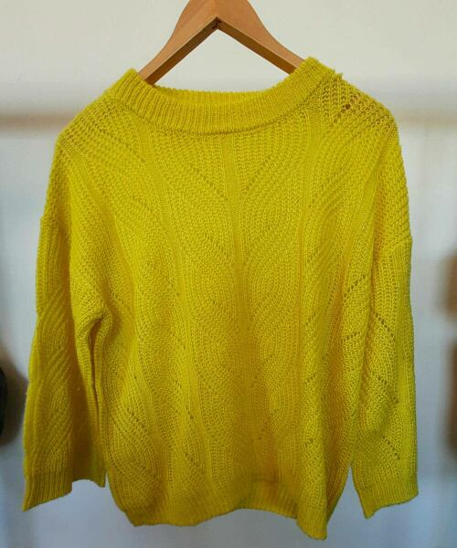 Yellow oversized women knitwear sweater sample Ads WOMEN Ads Women FASHION Ads Women KNITWEAR Ads Women SWEATERS WOMEN Women FASHION Womens KNITWEAR Womens SWEATERS