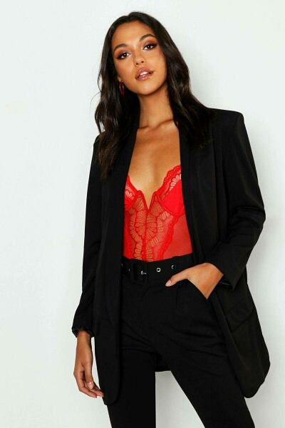 Boohoo UK Ladies Blazer Inspirations Outfit Style