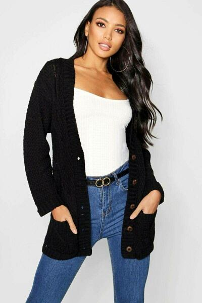 Boohoo UK Ladies Knitwear Inspirations Outfit Style