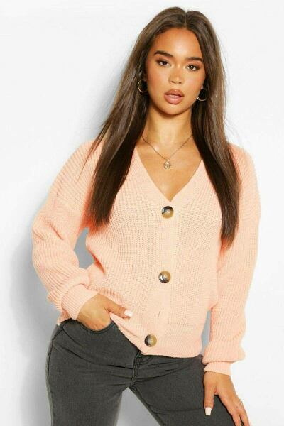 Boohoo UK Ladies Knitwear Style Trend Outfit