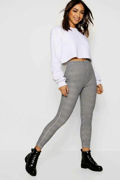 Boohoo UK Ladies Leggings Trend Outfits