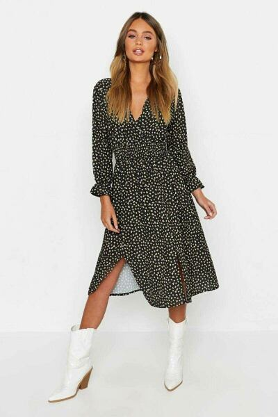 Boohoo UK Lady Clothes Inspiration Outfit