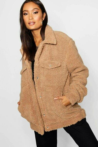 Boohoo UK Lady Coats Inspirations Outfit Style