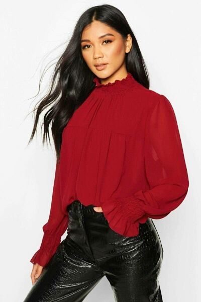 Boohoo UK Lady Fashion Outfit Trend Style