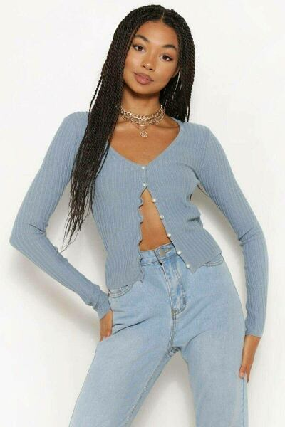 Boohoo UK Woman Knitwear Inspirations Outfit Style