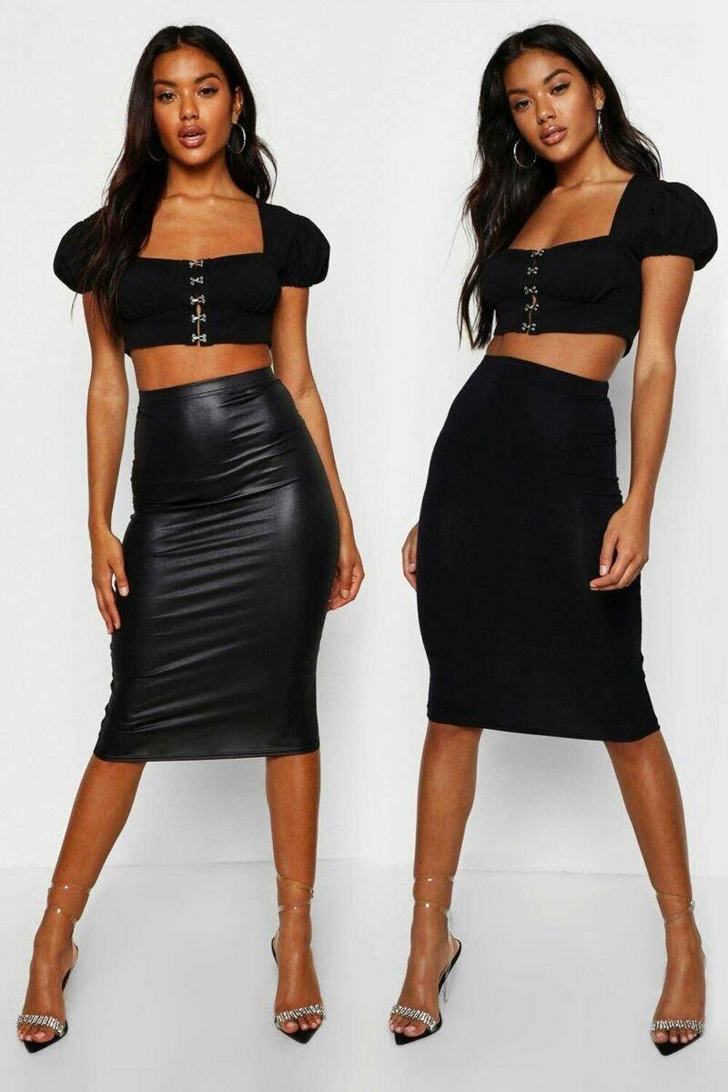 Boohoo UK Woman Skirts Looks Inspiration