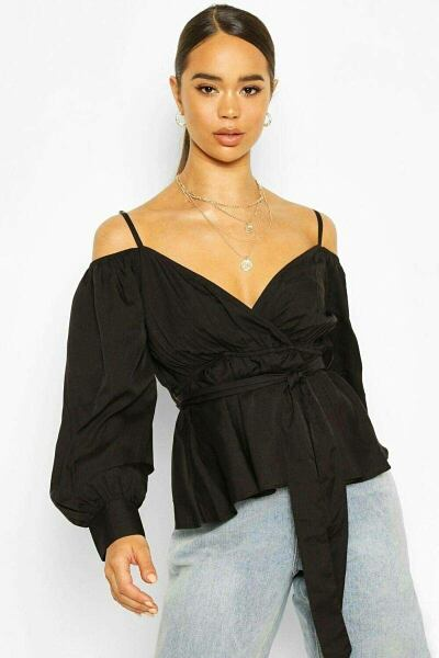 Boohoo UK Woman Tops Trend Outfits