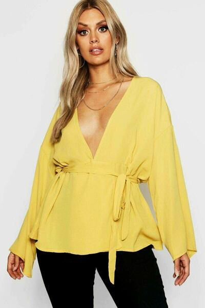 Boohoo UK Women Blouses Trend Outfits
