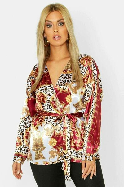 Boohoo UK Womens Blouses Inspirations Outfit Style