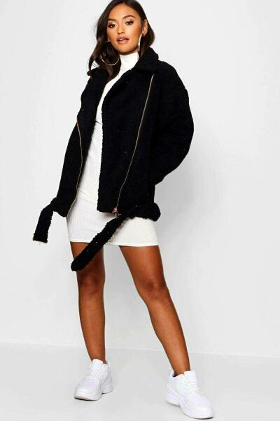 Boohoo UK Womens Coats Style Trend Outfit