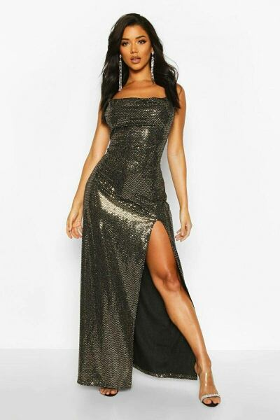 Boohoo UK Womens Dresses Look Trend with your new post styles on GOOFASH