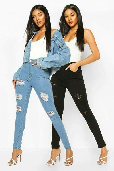 Boohoo UK Womens Jeans Inspirations Look Style