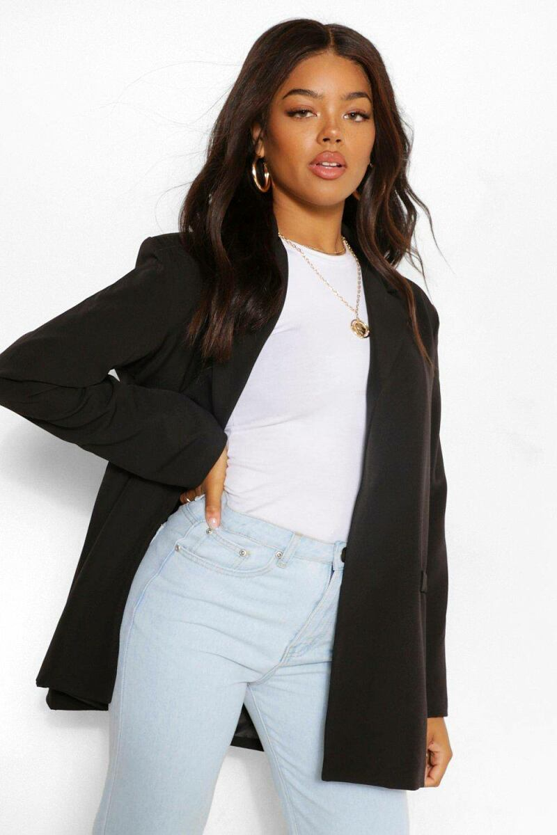 Boohoo Womens Tailored Longline Edge To Edge Blazer UK WOMEN Women FASHION Womens BLAZER