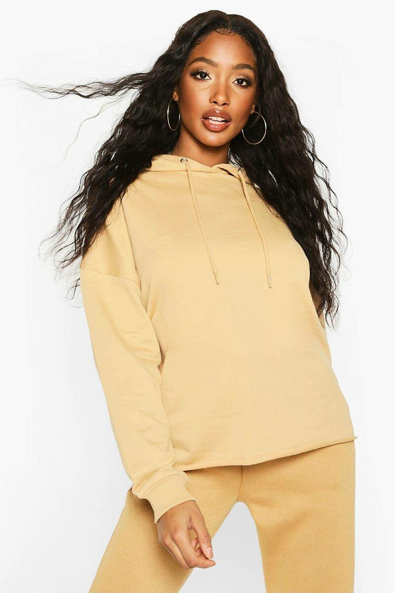 Boohoo Womens The Basic Oversized Hoody UK WOMEN Women FASHION Womens TOPS