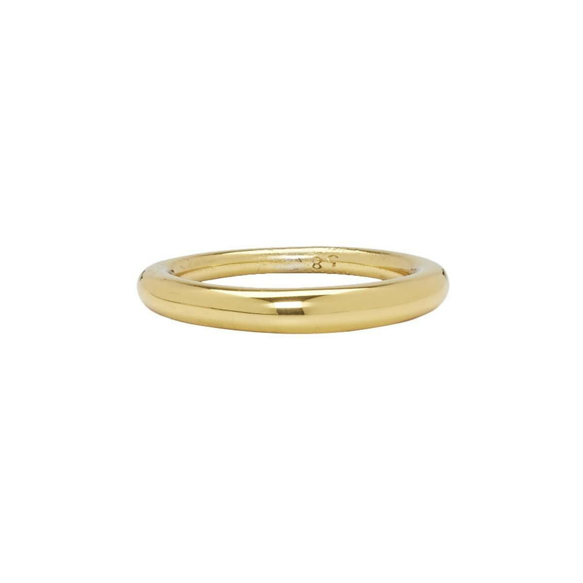 All Blues Gold Polished Hungry Snake Ring Ssense USA MEN Men ACCESSORIES Mens JEWELRY