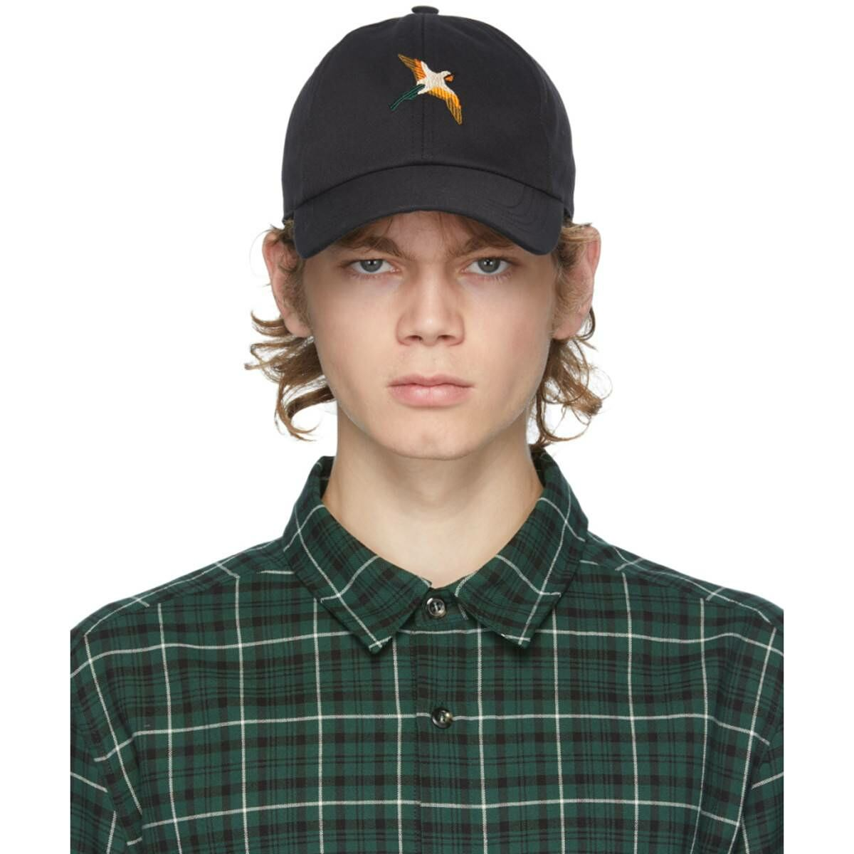 Axel Arigato SSENSE Exclusive Black Birds Cap Ssense USA MEN Men ACCESSORIES Mens CAPS
