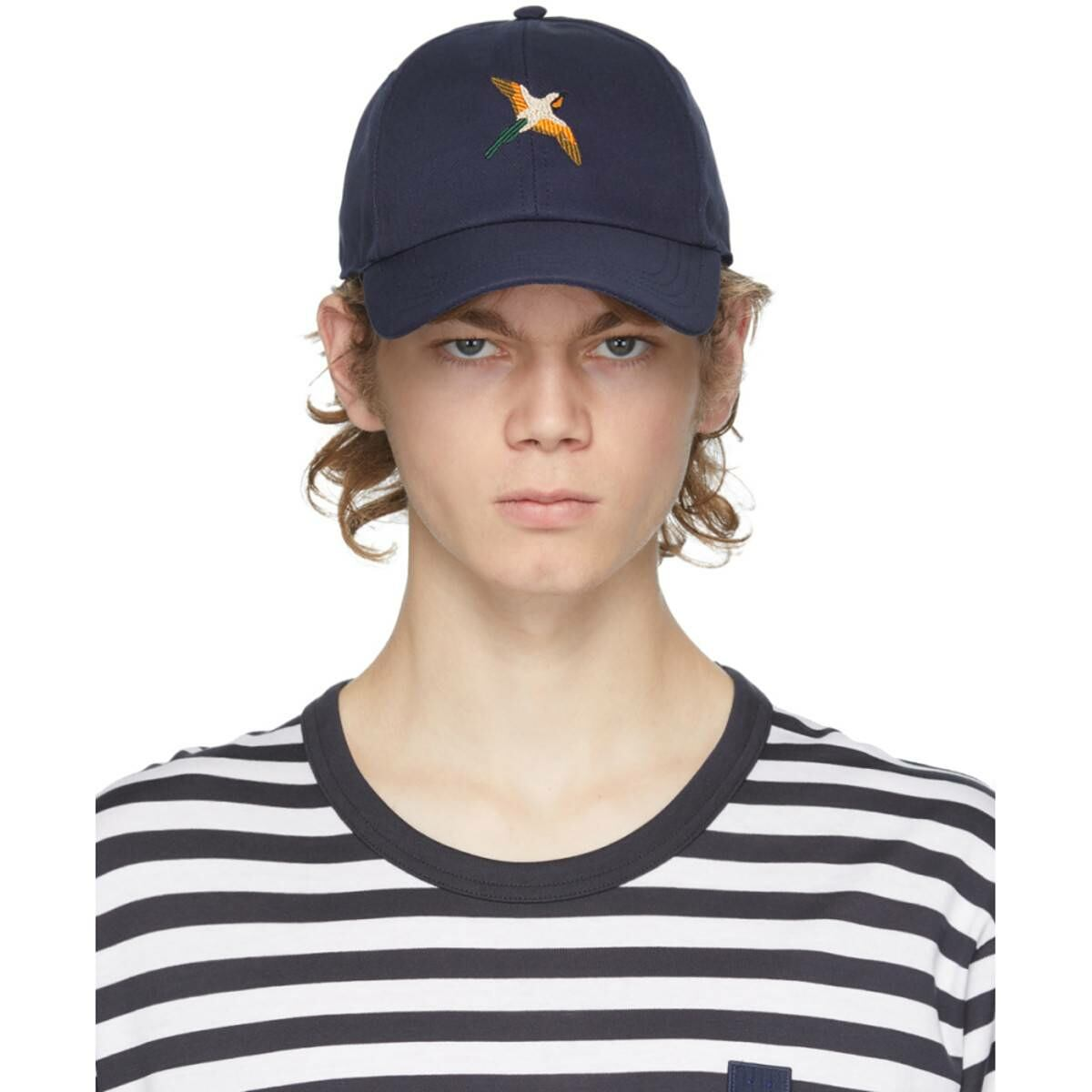 Axel Arigato SSENSE Exclusive Navy Birds Cap Ssense USA MEN Men ACCESSORIES Mens CAPS