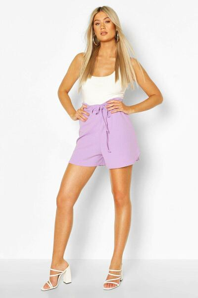 Boohoo Tall Belted Tailored Shorts NL WOMEN Women FASHION Womens SHORTS