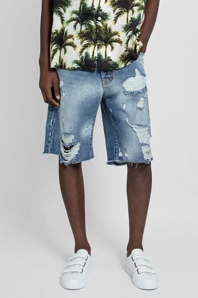 Buscemi Shorts Blue Men Antonioli USA MEN