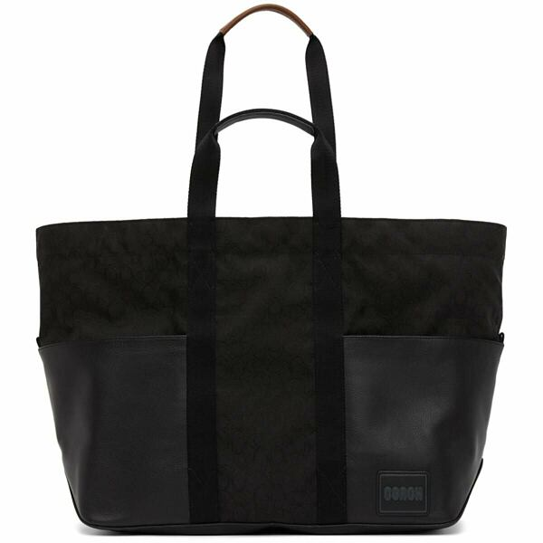 Coach 1941 Reversible Black and Green Pacer Tote Ssense USA MEN Men ACCESSORIES Mens BAGS