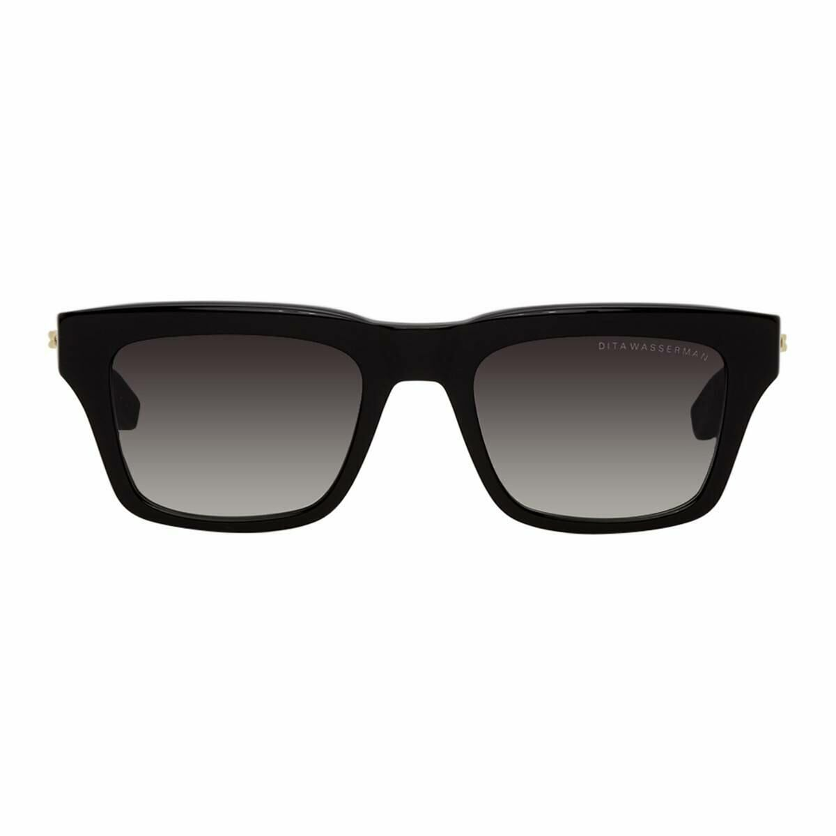 Dita Black and Grey Wasserman Sunglasses Ssense USA MEN Men ACCESSORIES Mens SUNGLASSES