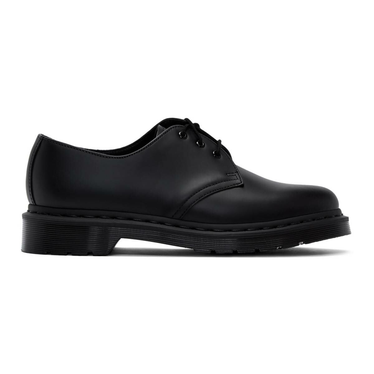 Dr. Martens Black 1461 Mono Derbys Ssense USA MEN Men SHOES Mens FORMAL SHOES