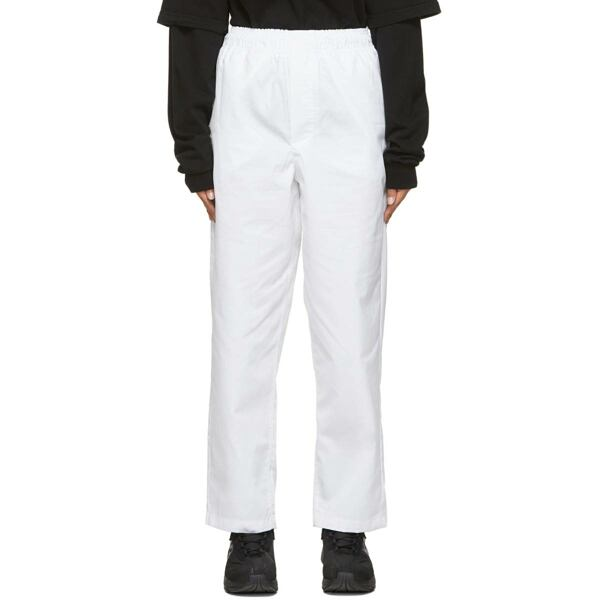 GR10K White Klopman Capital Trousers Ssense USA WOMEN Women FASHION Womens TROUSERS