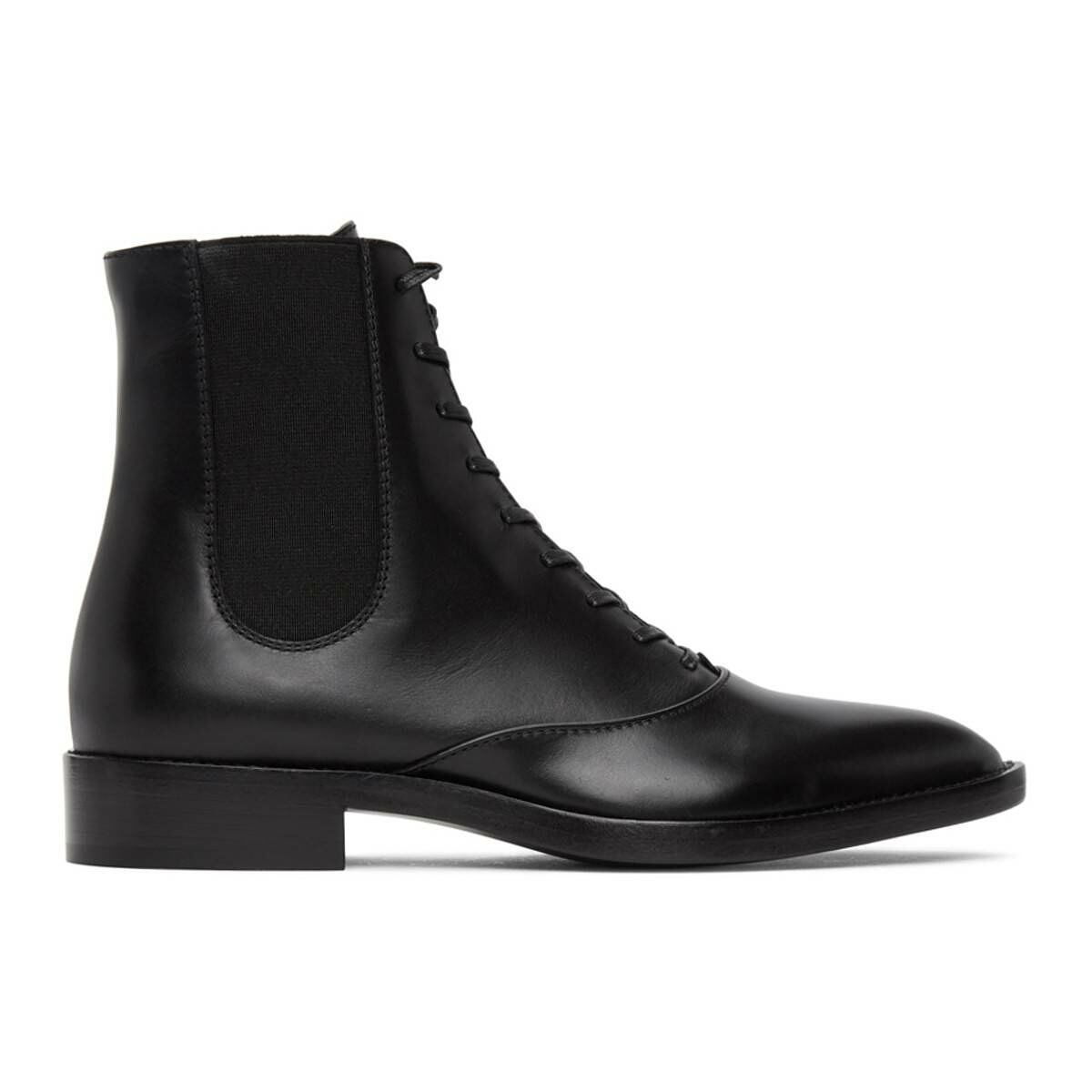 Gianvito Rossi Black Dresda 20 Boots Ssense USA WOMEN Women SHOES Womens ANKLE BOOTS