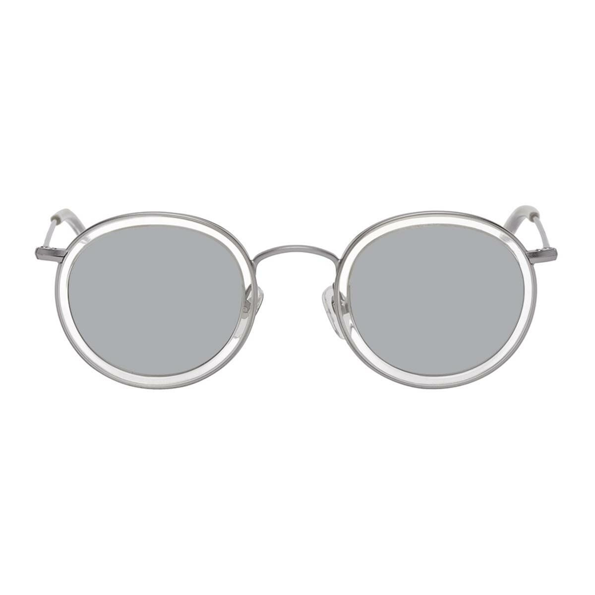 Han Kjobenhavn Silver Drum Sunglasses Ssense USA MEN Men ACCESSORIES Mens SUNGLASSES