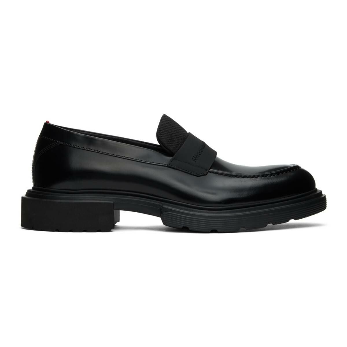 Hugo Black Dart Loafers Ssense USA MEN Men SHOES Mens LOAFERS