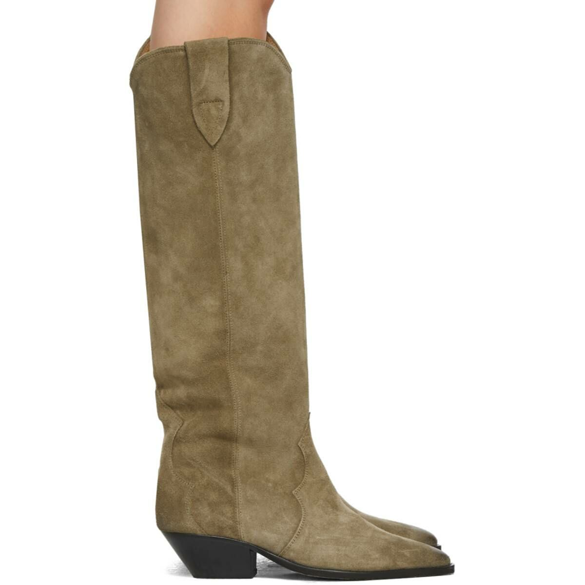 Isabel Marant Taupe Denvee Boots Ssense USA WOMEN Women SHOES Womens BOOTS