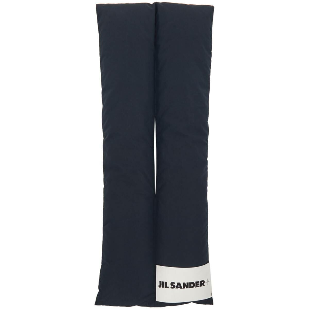 Jil Sander Navy Down Scarf Ssense USA MEN Men ACCESSORIES Mens SCARFS