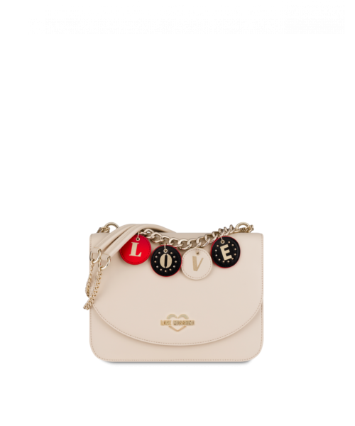 Lovely Charm Shoulder Bag Moschino UK WOMEN Women ACCESSORIES Womens BAGS